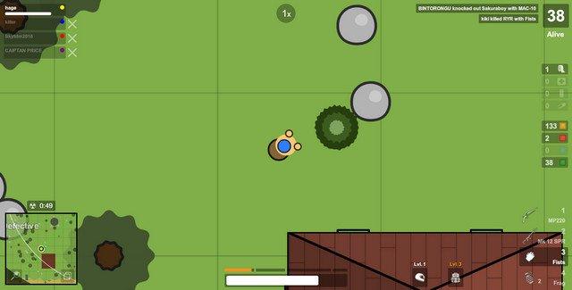 ゲームSurvivのプレイ画像