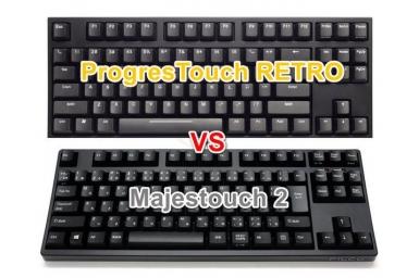 ARCHISS ProgresTouch RETRO FILCO Majestouch2 キーボード画像