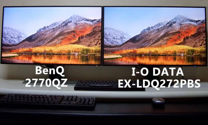 BenQ-ew2770qz i-o data EX-LDQ272PBS モニター
