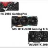 RTX 2080 3モデル MSI x ASUS x Palit ゲームタイトル22個!ベンチ比較
